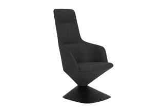 Pivot armchair high-back  by  Tom Dixon