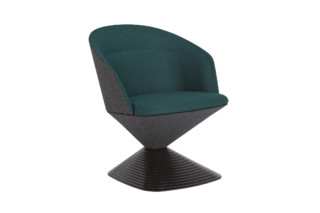 Pivot armchair low-back  by  Tom Dixon