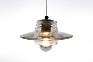 Pressed Glass Lens  by  Tom Dixon