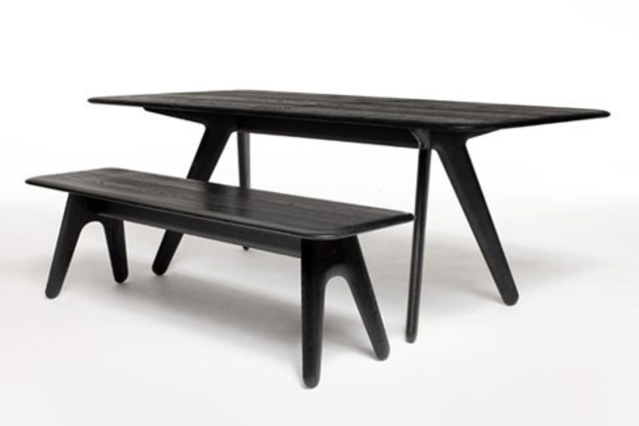 Slab rectangular dining table by tom dixon stylepark for Dining at at t center