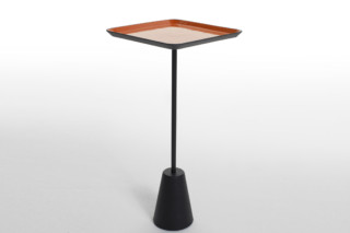 Spot table red square  by  Tom Dixon