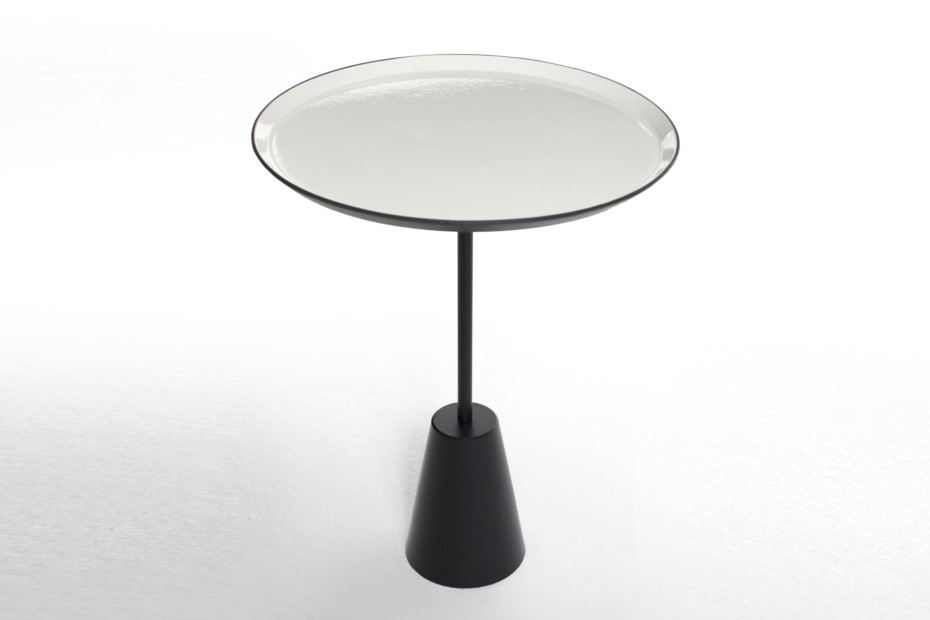 Spot table white round