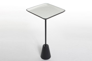 Spot table white square  by  Tom Dixon