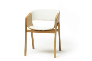 Merano armchair upholstered  by  TON