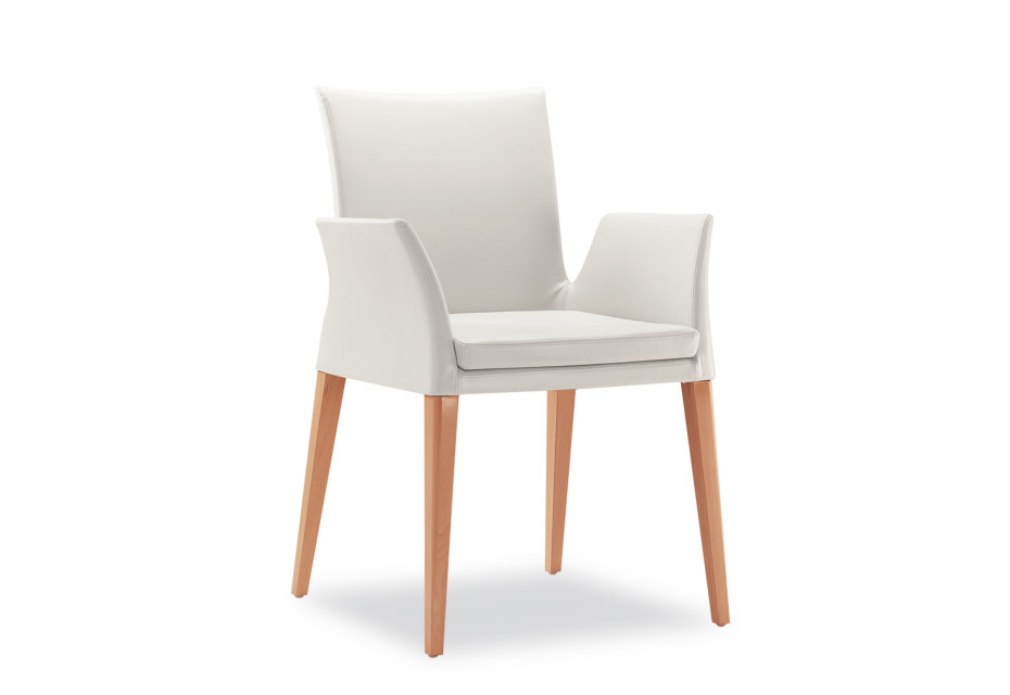 Ensemble Wood with armrests