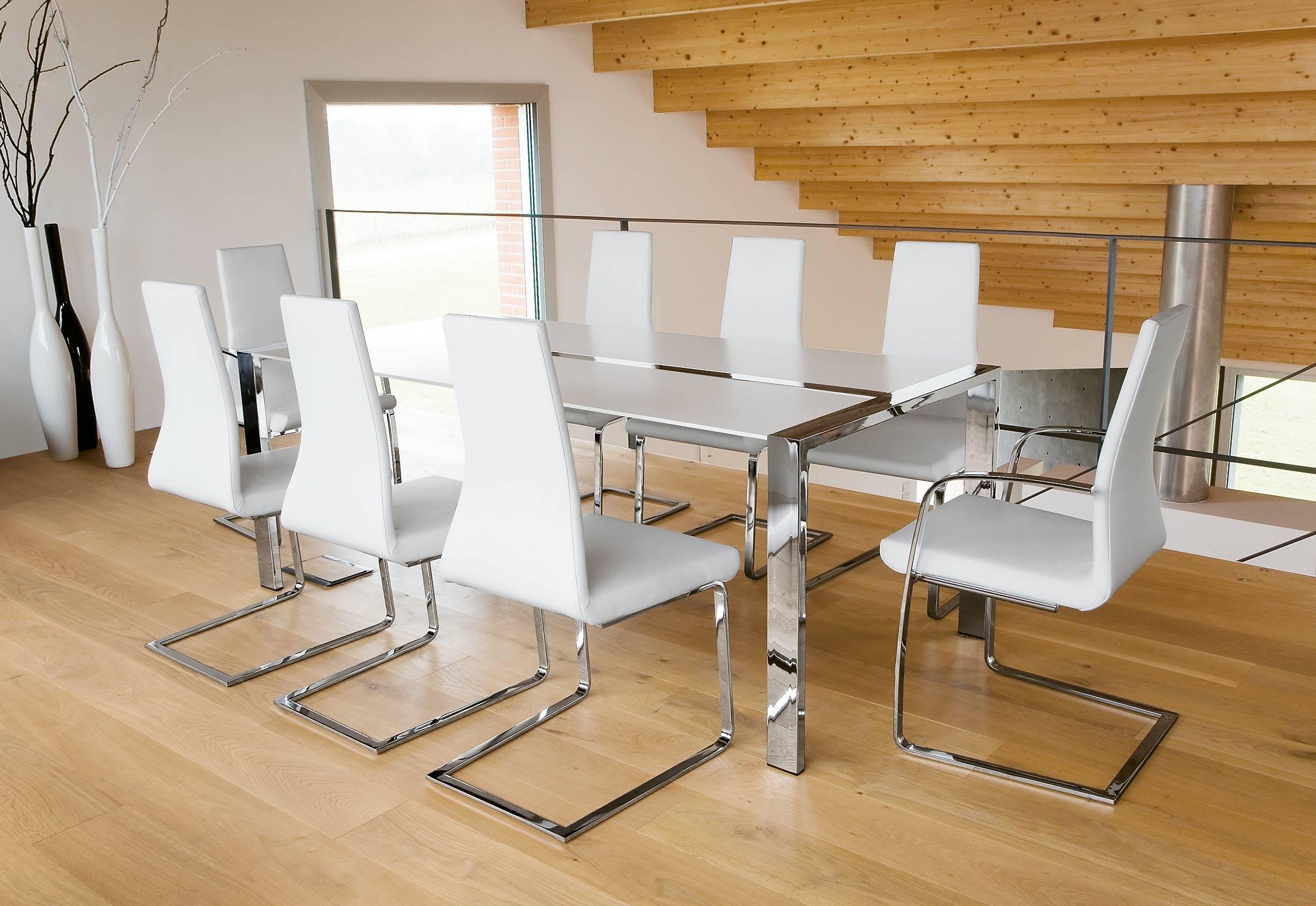 flow freischwinger mit armlehnen von tonon stylepark. Black Bedroom Furniture Sets. Home Design Ideas