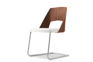 Gamma Cantilever chair  by  Tonon