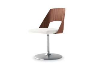 Gamma Chair with base plate  by  Tonon