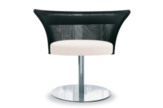 Shells Lounge chair with base plate  by  Tonon