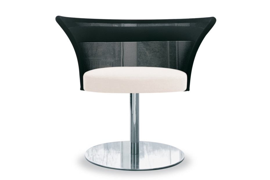 Shells Lounge chair with base plate