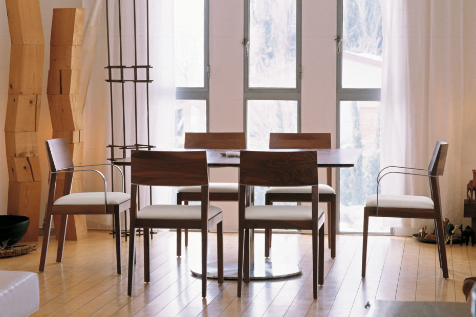 Tendence with armrests