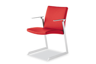 Tulip with armrests  by  Tonon