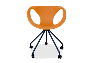 UP chair with castors  by  Tonon