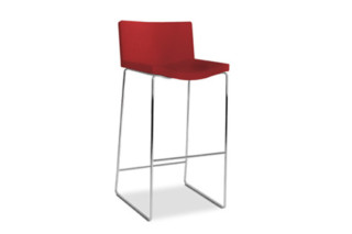 Wave barstool with sleds  by  Tonon