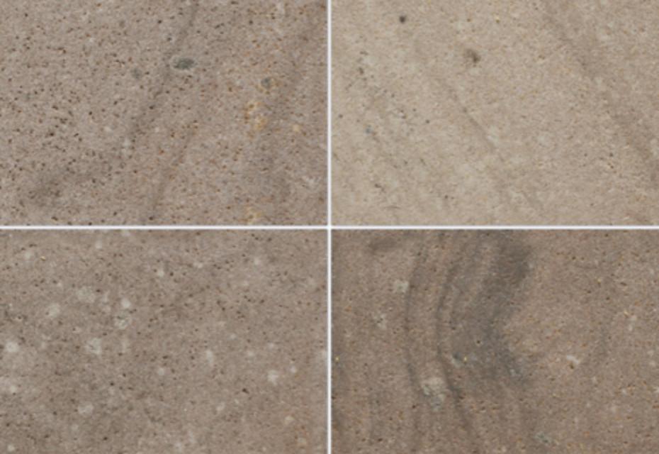 Korinth Sandstein geschliffen lavendel