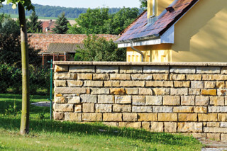 Luxor sandstone wall  by  TRACO Manufactur