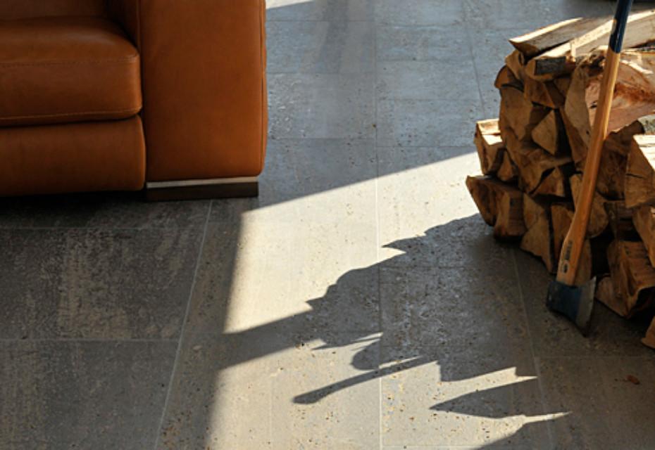 Memohis shell limestone floor