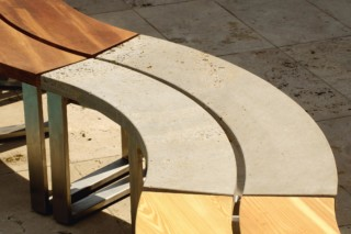 Pure bench  by  TRACO Manufactur