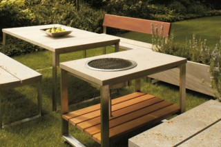 Pure grill table  by  TRACO Manufactur