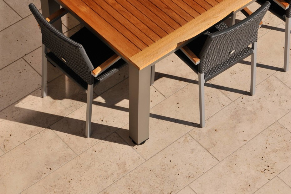 Troja Travertine patio