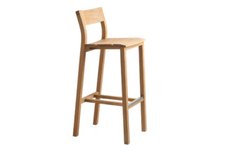 Kos teak bar stool  by  Tribù