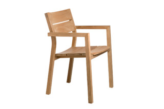Kos Teak Stuhl mit Armlehnen  von  Tribù