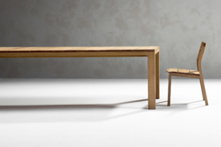 Kos teak dining table  by  Tribù