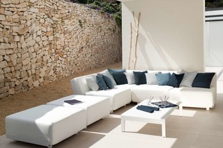 Mirthe sofa corner module  by  Tribù