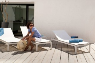 Natal Alu lounger  by  Tribù