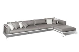 Natal Alu Modulares Sofa  von  Tribù