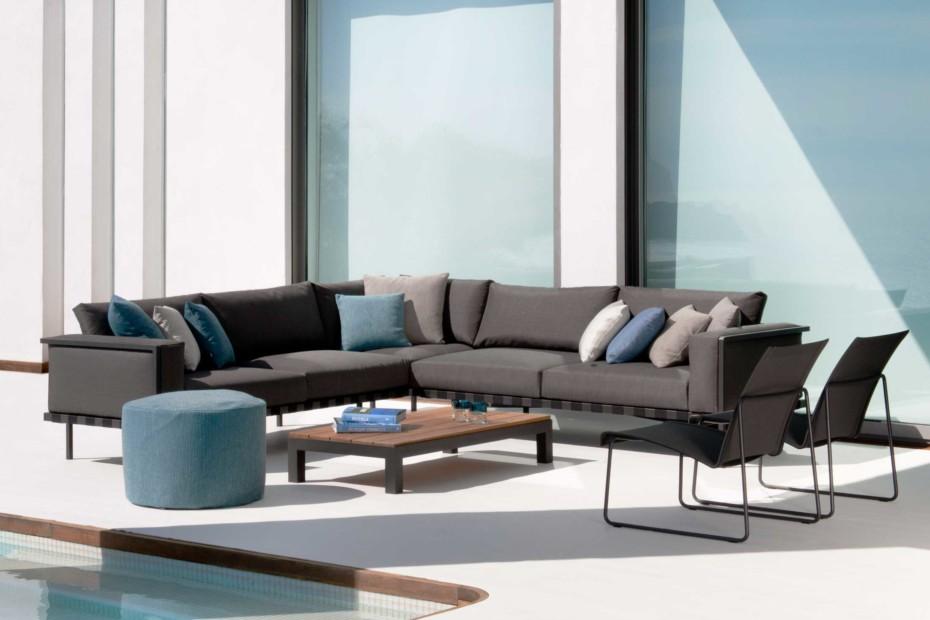 Natal Alu modular sofa