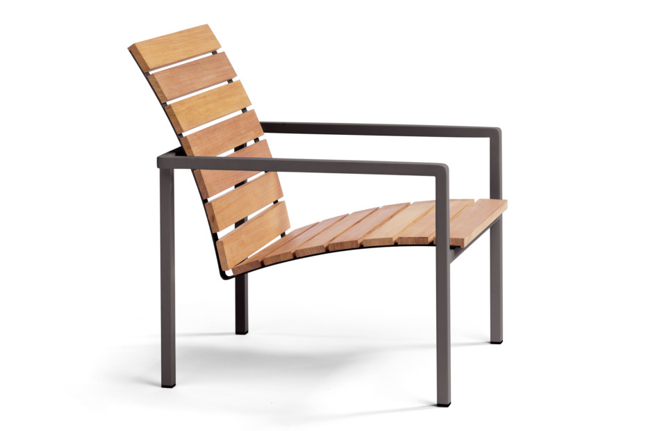 Natal Alu teak easy chair