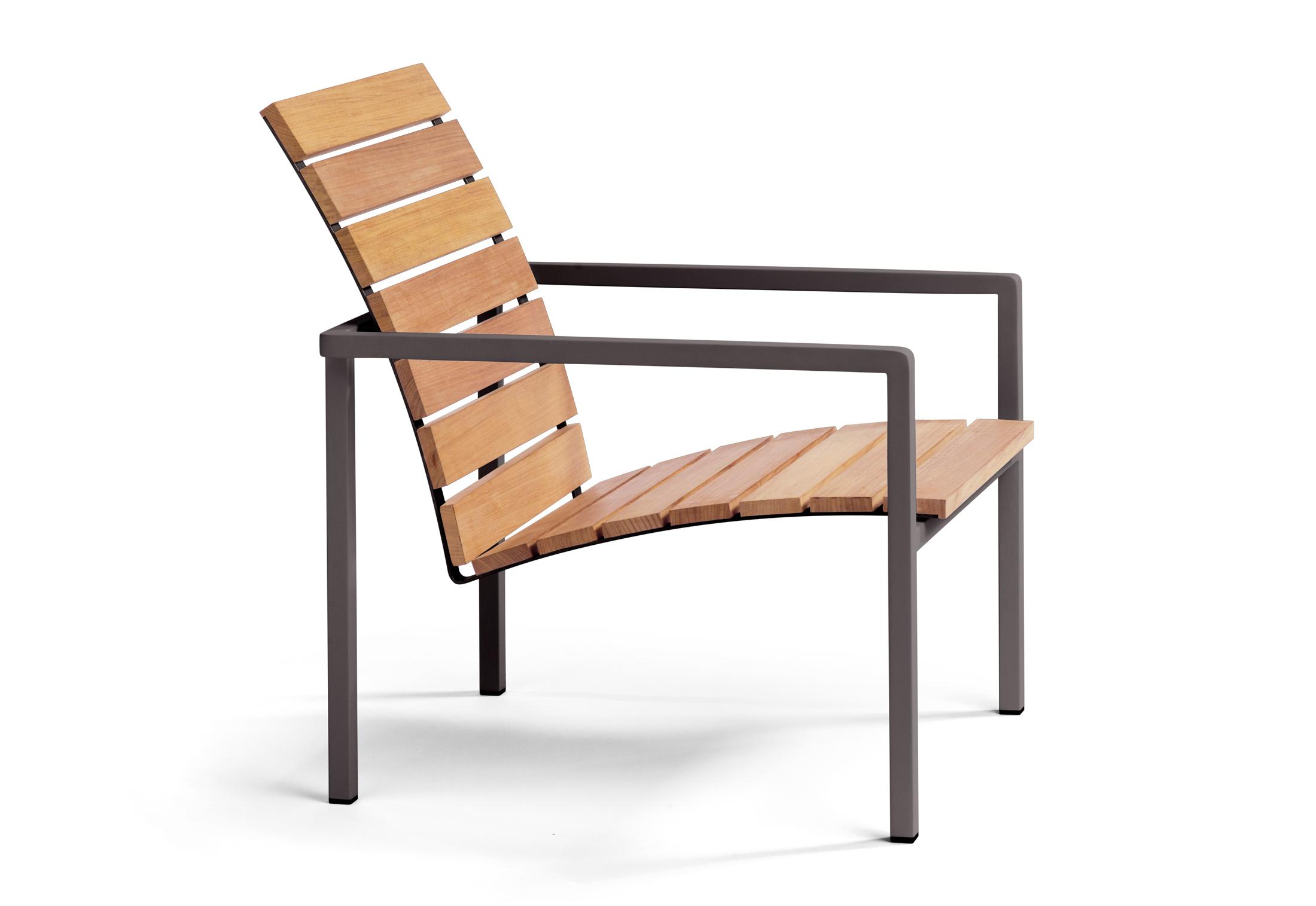 Natal Alu Teak Easy Chair By Tribù Stylepark