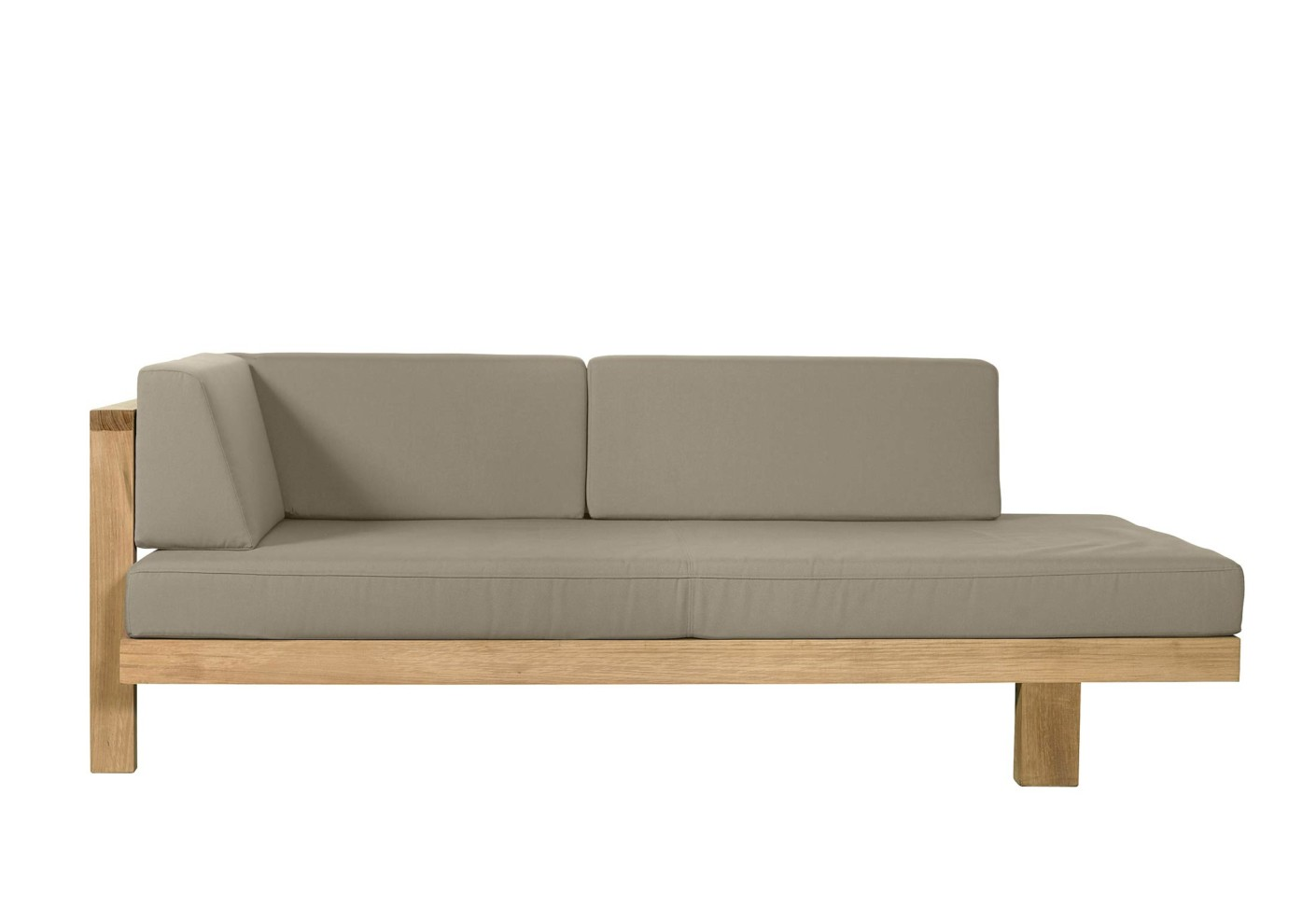 pure sofa right arm by tribù | stylepark - Modulares Outdoor Sofa Island