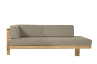 Pure Sofa right arm  by  Tribù