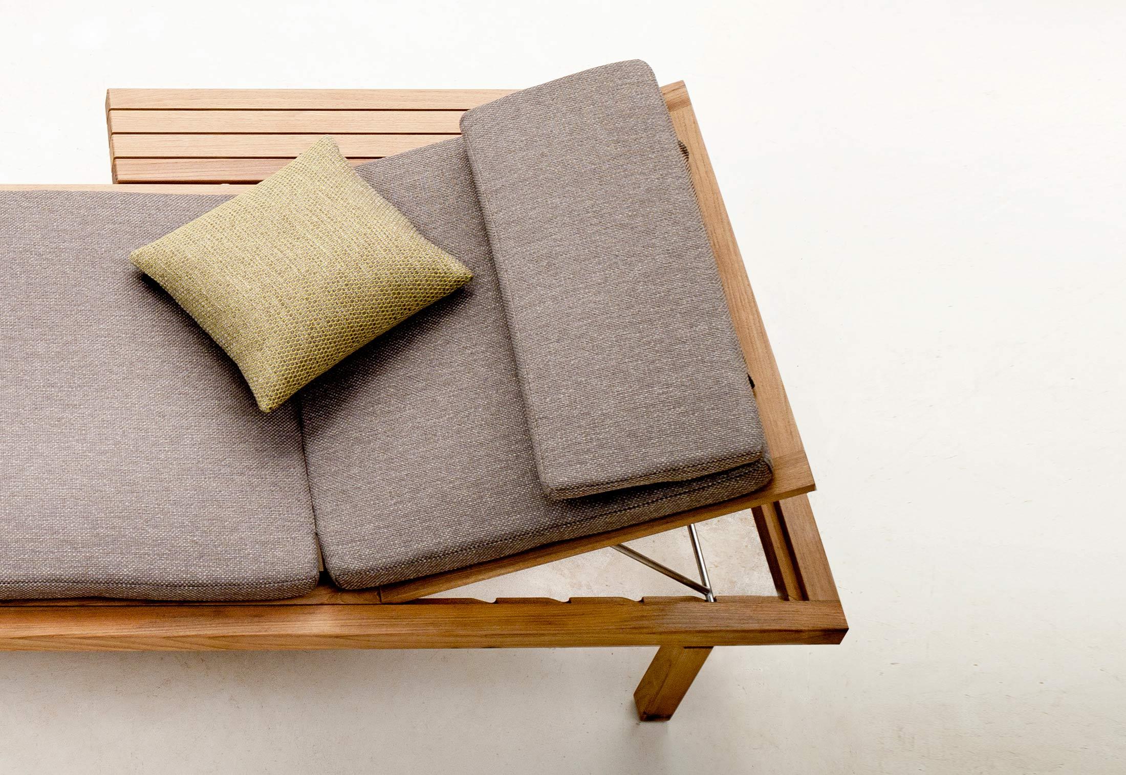 tribù vis à vis sofa | high-end outdoor sofa in teak wood ...
