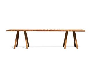 Vis à Vis Tisch rechteckig  von  Tribù