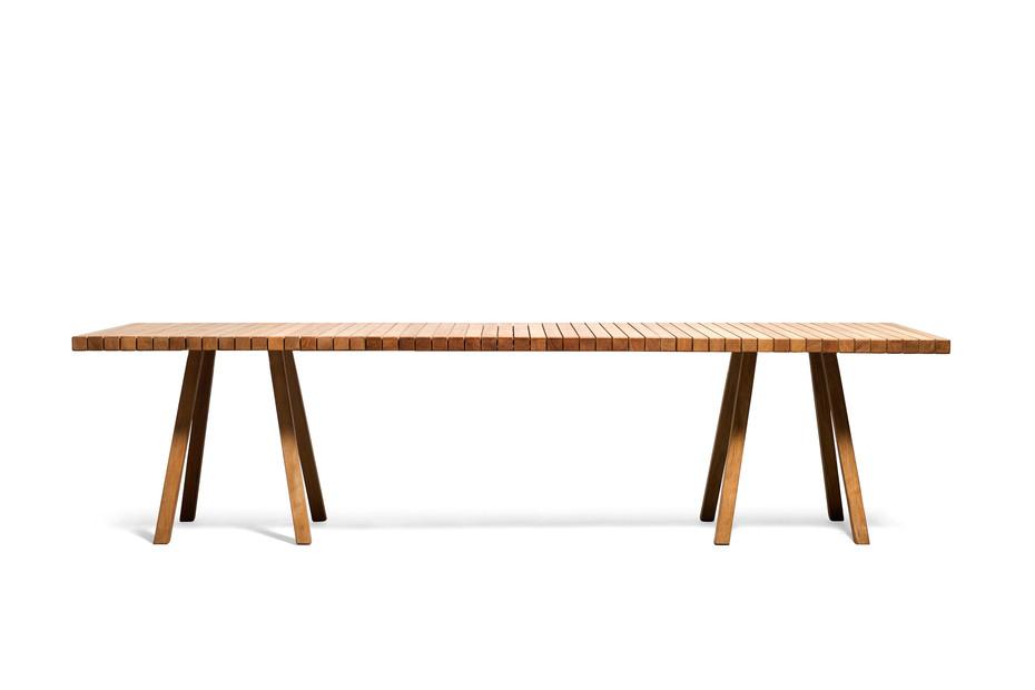 Vis à Vis Tisch rechteckig