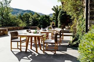 Vis à Vis Tisch quadratisch  von  Tribù