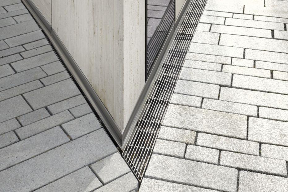 Fassadenrinne