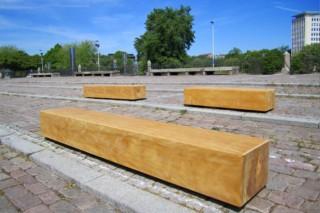 Carat arbor seat  by  UNION - public & street furniture