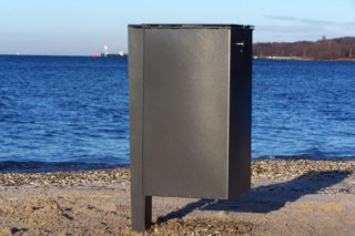 Depot litter bin  by  UNION - public & street furniture