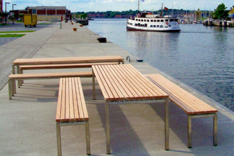 Madison INOX bench