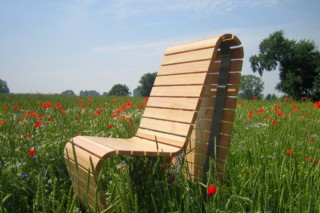 Park-chair courage  by  UNION - public & street furniture
