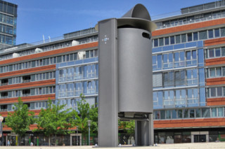 Primus litter bin  by  UNION - public & street furniture