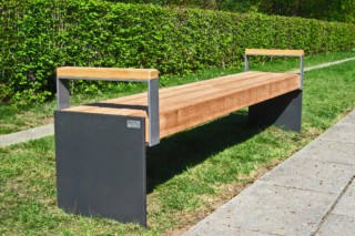 Profile-bench Esplanade  by  UNION - public & street furniture