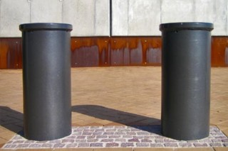 Quai promenade bollard  by  UNION - public & street furniture