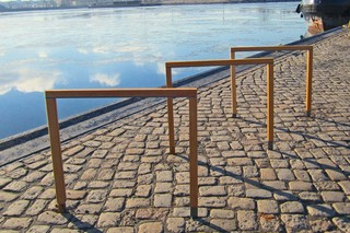 Steelwood bike rack Ceres  by  UNION - public & street furniture