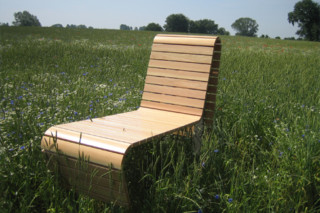 Vision deck lounger  by  UNION - public & street furniture