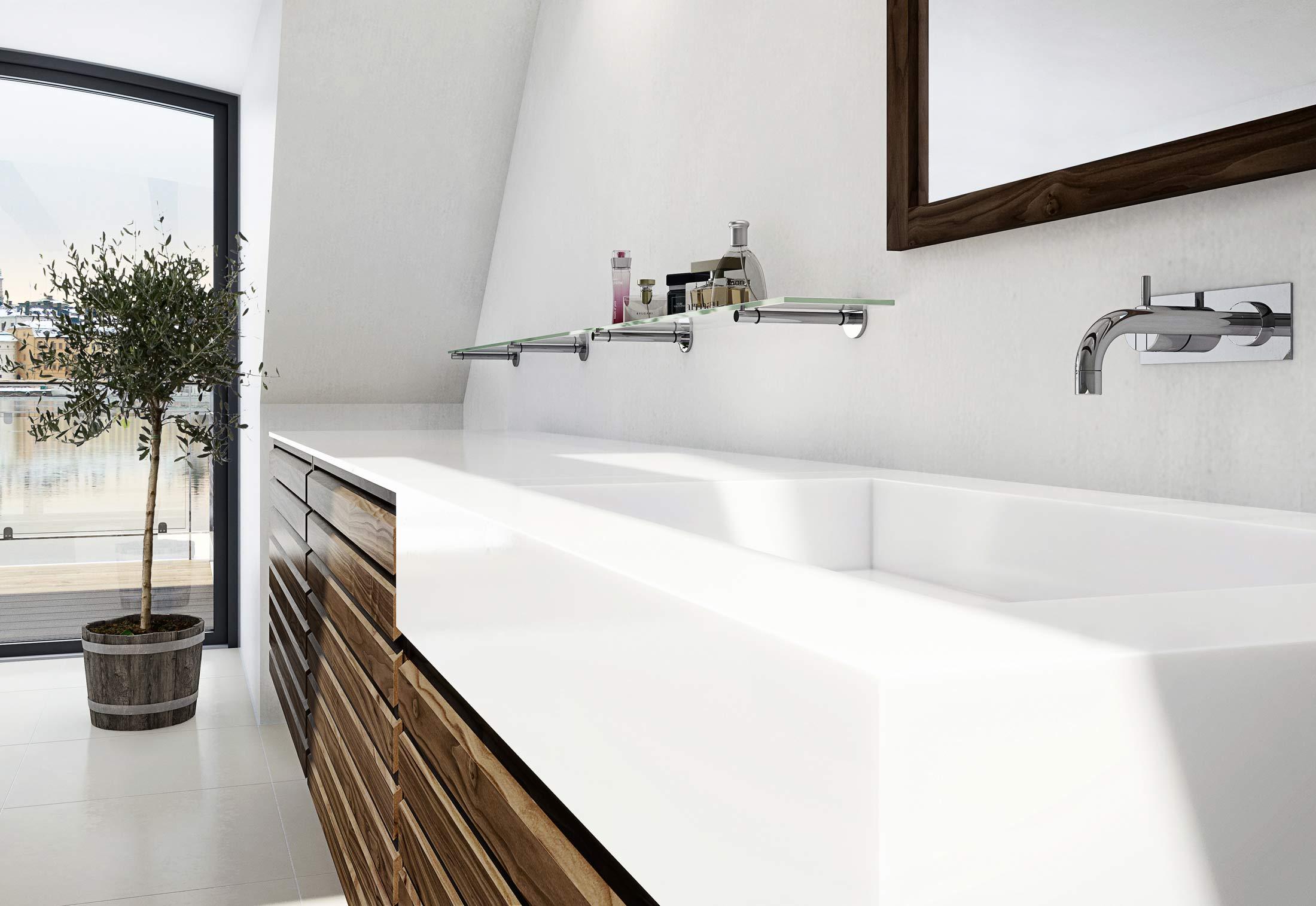 C Serie Bath Walnut